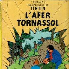 Cómics: HERGE - LES AVENTURES DE TINTIN - L' AFER TORNASSOL - ED JUVENTUD 1983 5ª EDICIO - BASTANT BE. Lote 130981536