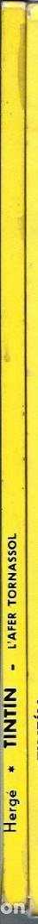 Cómics: HERGE - LES AVENTURES DE TINTIN - L AFER TORNASSOL - ED JUVENTUD 1983 5ª EDICIO - BASTANT BE - Foto 2 - 130981536