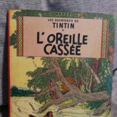 Cómics: LES AVENTURES DE TINTIN- L'OREILLE CASSÉE, CASTERMAN- 1°EDICIÓN, 1947. EN FRANCÉS.. Lote 130984929