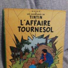 Cómics: LES AVENTURES DE TINTIN- L'AFFAIRE TOURNESOL, CASTERMAN- 1°EDICIÓN, 1956. EN FRANCÉS.. Lote 130986371