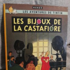 Cómics: LES AVENTURES DE TINTIN- LES BIJOUX DE LA CASTAFIORE, CASTERMAN- 1°ED.1966.(IMP.BELGICA) EN FRANCÉS.. Lote 130987137