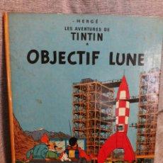 Cómics: LES AVENTURES DE TINTIN- OBJECTIF LUNE, CASTERMAN- 1°EDICIÓN.(IMP.BELGICA) EN FRANCÉS.. Lote 130987673