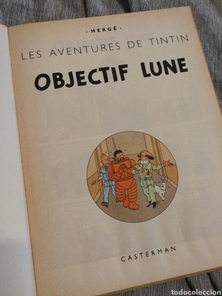 Cómics: LES AVENTURES DE TINTIN- OBJECTIF LUNE, CASTERMAN- 1°EDICIÓN.(IMP.BELGICA) EN FRANCÉS. - Foto 2 - 130987673
