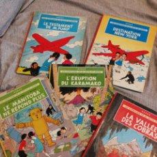 Cómics: LES AVENTURES DE JO, ZETTE ET JOCKO-5 TOMOS(COMPLETA!),CASTERMAN- 1°EDICIÓN, 1951-52-57. EN FRANCÉS.. Lote 130992036
