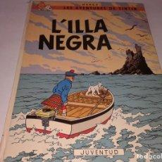 Cómics: L´ILLA NEGRA, EN CATALA, 1977 , 2ª EDICIO. Lote 130997240