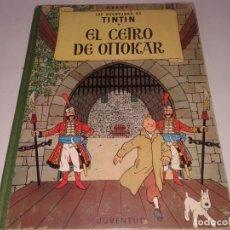 Cómics: TINTIN, EL CETRO DE OTTOKAR , 1964, 2ª EDICION. Lote 130998124