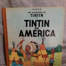 Cómics: LAS AVENTURAS DE TINTIN- TINTIN EN AMERICA, JUVENTUD- 1° EDICIÓN, 1968.. Lote 131035393