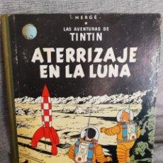 Cómics: LAS AVENTURAS DE TINTIN- ATERRIZAJE EN LA LUNA, JUVENTUD- 4° EDICIÓN, 1967.. Lote 134541306