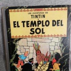 Cómics: LAS AVENTURAS DE TINTIN- EL TEMPLO DEL SOL, JUVENTUD- 2° EDICIÓN, 1961.. Lote 131037311