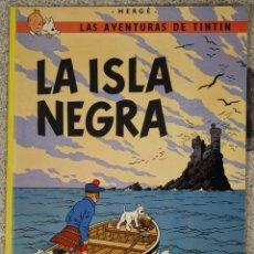 Cómics: LA ISLA NEGRA. LAS AVENTURAS DE TINTIN. CUARTA EDICION. JUVENTUD 1974. Lote 131167108