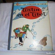 Cómics: HERGE.LAS AVENTURAS DE TINTIN.TINTIN EN EL TIBET.-JUVENTUD 1970.-4ª EDICION. Lote 131168496