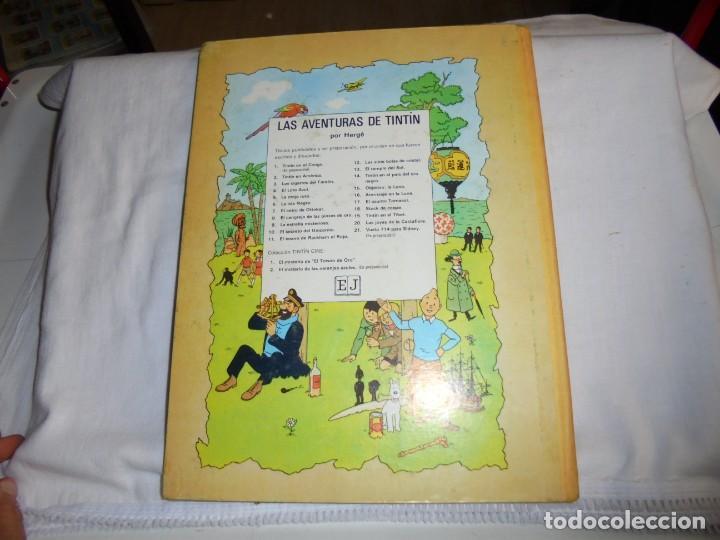 Cómics: HERGE.LAS AVENTURAS DE TINTIN.LA OREJA ROTA .-JUVENTUD 1969.-3ª EDICION - Foto 7 - 131168828