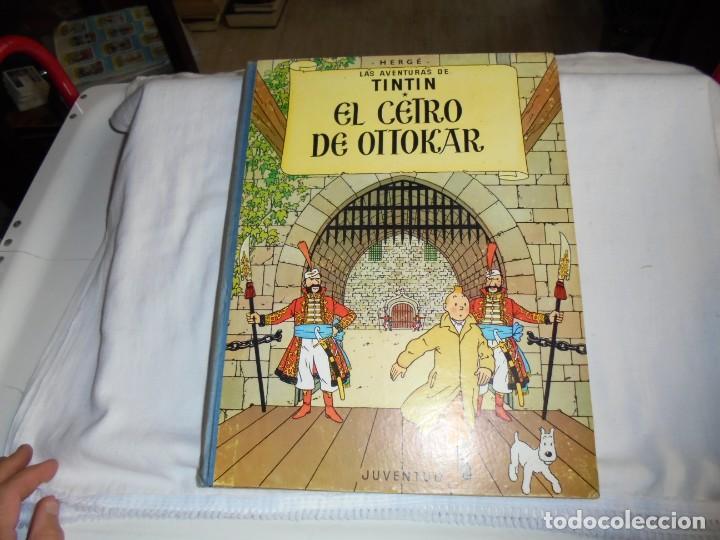 HERGE.LAS AVENTURAS DE TINTIN.EL CETRO DE OTTOKAR .-JUVENTUD 1972.-5ª EDICION (Tebeos y Comics - Juventud - Tintín)