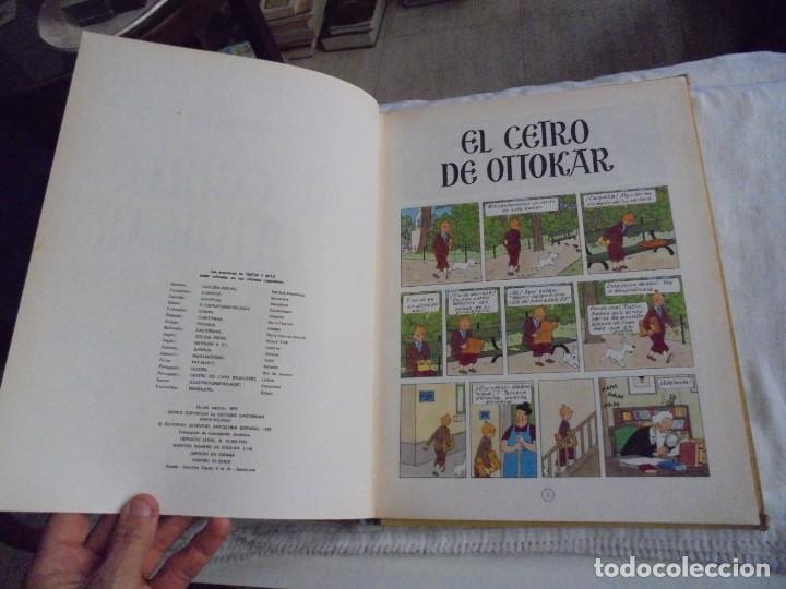 Cómics: HERGE.LAS AVENTURAS DE TINTIN.EL CETRO DE OTTOKAR .-JUVENTUD 1972.-5ª EDICION - Foto 4 - 131169052