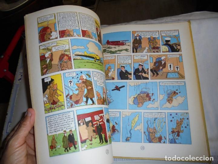 Cómics: HERGE.LAS AVENTURAS DE TINTIN.EL CETRO DE OTTOKAR .-JUVENTUD 1972.-5ª EDICION - Foto 7 - 131169052