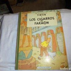 Cómics: HERGE.LAS AVENTURAS DE TINTIN.LOS CIGARROS DEL FARAON .-JUVENTUD 1968.-3ª EDICION. Lote 131169268