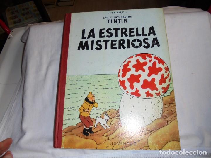 HERGE.LAS AVENTURAS DE TINTIN.LA ESTRELLA MISTERIOSA .-JUVENTUD 1970.-5ª EDICION (Tebeos y Comics - Juventud - Tintín)