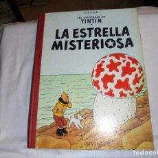 Cómics: HERGE.LAS AVENTURAS DE TINTIN.LA ESTRELLA MISTERIOSA .-JUVENTUD 1970.-5ª EDICION. Lote 131185068