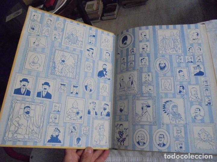 Cómics: HERGE.LAS AVENTURAS DE TINTIN.EL SECRETO DEL UNICORNIO .-JUVENTUD 1972.-5ª EDICION - Foto 2 - 131185880