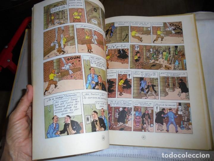 Cómics: HERGE.LAS AVENTURAS DE TINTIN.EL SECRETO DEL UNICORNIO .-JUVENTUD 1972.-5ª EDICION - Foto 5 - 131185880