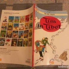 Cómics: TINTIN IDIOMAS - EN EL TIBET - TIM IN TIBET - ALEMAN - HERGE. Lote 131303619