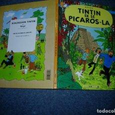 Cómics: TINTIN IDIOMAS - TINTIN Y LOS PICAROS - TINTIN EK SE PICAROS-LA - CRIOLLO ANTILLAS - IDIOMA. Lote 131303887