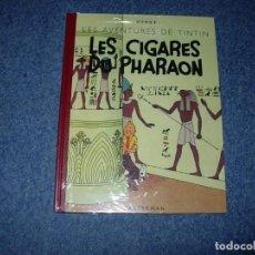 Cómics: TINTIN IDIOMA - LOS CIGARROS DEL FARAON - LES CIGARES DU PHARAON - FACSIMIL 1942 FRANCES. Lote 245963005