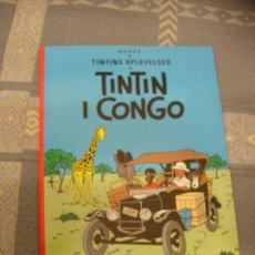 Cómics: TINTIN IDIOMAS - TINTIN EN EL CONGO - TINTIN I CONGO - DANES - IDIOMA. Lote 131531251