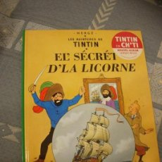 Cómics: TINTIN IDIOMAS - EL SECRETO DEL UNICORNIO - EL' SECRÉT D'LA LICORNE - CH'TI - IDIOMA. Lote 131531594