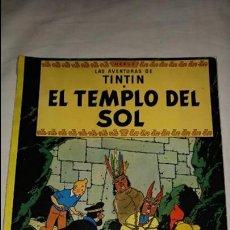 Cómics: TINTIN EL TEMPLO DEL SOL EDITORIAL JUVENTUD ESTADO NORMAL . Lote 131535622
