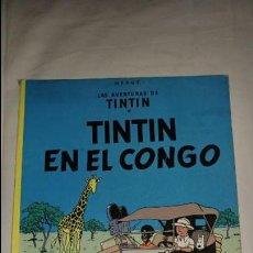 Cómics: TINTIN EN EL CONGO EDITORIAL JUVENTUD ESTADO NORMAL . Lote 131535646