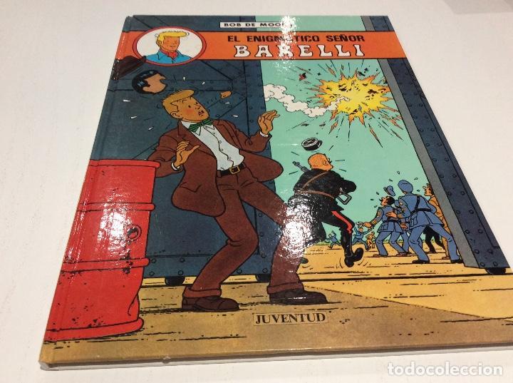 EL ENIGMÁTICO SEÑOR BARELLI. BOB DE MOOR. EDITORIAL JUVENTUD (Tebeos y Comics - Juventud - Barelli)