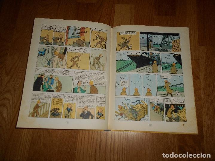 Cómics: TINTIN, EL CANGREJO DE LAS PINZAS DE ORO , JUVENTUD , 2ª EDICION 1966 TAPA DURA, ORIGINAL - Foto 7 - 251630510