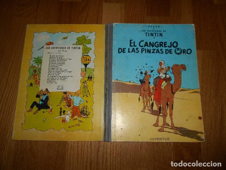 Cómics: TINTIN, EL CANGREJO DE LAS PINZAS DE ORO , JUVENTUD , 2ª EDICION 1966 TAPA DURA, ORIGINAL - Foto 11 - 251630510