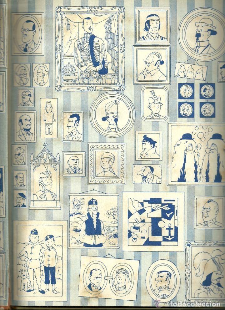 Cómics: TINTIN. ELS CIGARS DEL FARAÓ - EDITORIAL JUVENTUD - 2ª EDICIÓN EN CATALÁN. LOMO COLOR MARRÓN - 1965 - Foto 3 - 134836002
