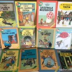 Cómics: LAS AVENTURAS DE TINTÍN, CÍRCULO DE LECTORES 1993, COMPLETA CON 12 TOMOS. Lote 132140650