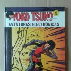 Comics : YOKO TSUNO N°4: AVENTURAS ELECTRÓNICAS, POR ROGER LELOUP. CON HISTORIETAS CORTAS (JUVENTUD, 1993). Lote 132449069