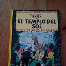 Cómics: LAS AVENTURAS DE TINTIN EL TEMPLO DEL SOL HERGE EDITORIAL JUVENTUD 2012. Lote 132809013