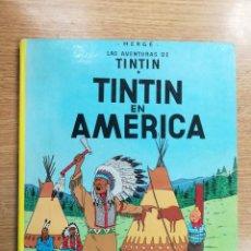 Cómics: TINTIN EN AMERICA (SEPTIMA EDICION - 1982). Lote 133243482