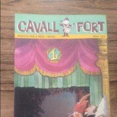 Cómics: CAVALL FORT REVISTA PER A NOIS I NOIES. Lote 133365710