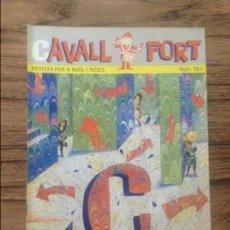 Cómics: CAVALL FORT REVISTA PER A NOIS I NOIES. Lote 133365914