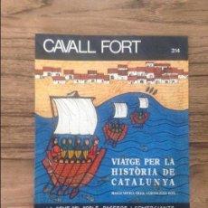 Cómics: CAVALL FORT REVISTA PER A NOIS I NOIES. Lote 133366014