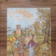 Cómics: CAVALL FORT REVISTA PER A NOIS I NOIES. Lote 133366542