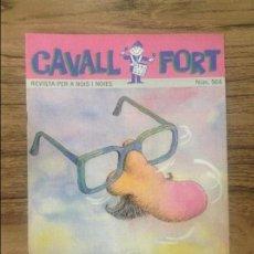 Cómics: CAVALL FORT REVISTA PER A NOIS I NOIES. Lote 133366582