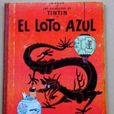 Cómics: EL LOTO AZUL LAS AVENTURAS DE TINTIN. Lote 133406678