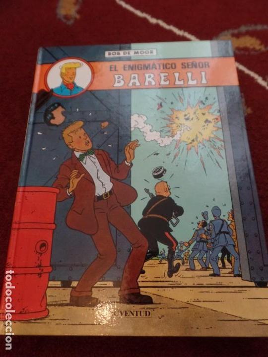 BARELLI EL ENIGMÁTICO SEÑOR BARELLI BOB DE MOOR (Tebeos y Comics - Juventud - Barelli)