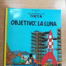 Cómics: TINTIN OBJETIVO LA LUNA (RUSTICA) (17ª EDICION 1996). Lote 133617314