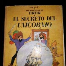 Cómics: TINTÍN. EL SECRETO DEL UNICORNIO. ED. JUVENTUD. 1ª EDICIÓN SEPTIEMBRE 1959. MUY DIFICIL.. Lote 133620910