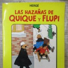 Cómics: LAS HAZAÑAS DE QUIQUE Y FLUP I- Nº 2 - HERGE - JUVENTUD - TAPA SEMIRIGIDA 1ª EDICION 1987. Lote 133655250