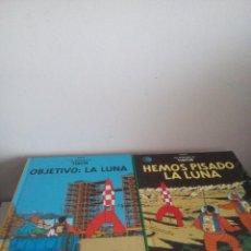 Cómics: TINTÍN - OBJETIVO LA LUNA - HEMOS PISADO LA LUNA - CASTERMAN - PANINI 2002 - AVENTURA COMPLETA. Lote 133905378